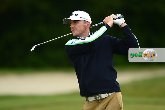 Michael Hoey of Northern Ireland during Round 4 of the Lyoness Open, Diamond Country Club, Atzenbrugg, Austria. 12/06/2016<br /> Picture: Richard Martin-Roberts / Golffile<br /> <br /> All photos usage must carry mandatory copyright credit (&copy; Golffile   Richard Martin- Roberts)