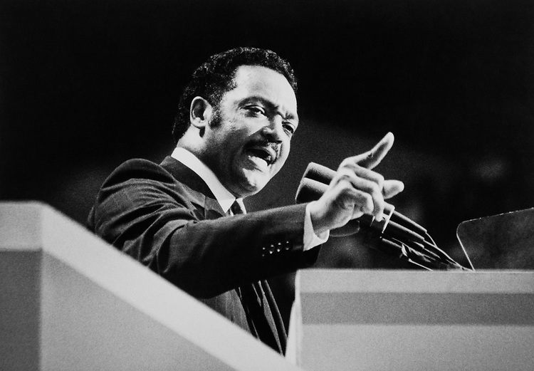 Presidential Candidate Rev. Jesse Jackson in 1988. (Photo by Andrea Mohin/CQ Roll Call via Getty Images)