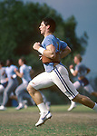 DEC 83 P8<br /> <br /> 8 Steve Young. Running in Practice.<br /> <br /> 1983<br /> <br /> Photo by Mark Philbrick/BYU<br /> <br /> © BYU PHOTO 2009<br /> All Rights Reserved<br /> photo@byu.edu  (801)422-7322