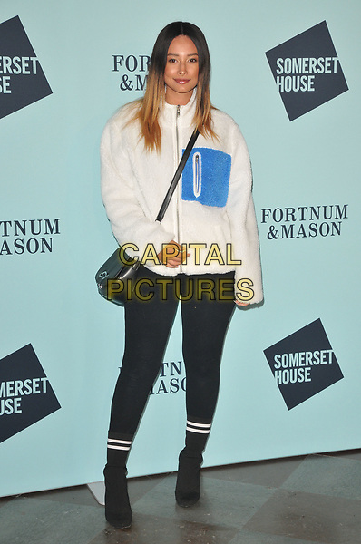 Leah Weller at the Skate at Somerset House wtih Fortnum &amp; Mason VIP launch party, Somerset House, The Strand, London, England, UK, on Tuesday 14 November 2017.<br /> CAP/CAN<br /> &copy;CAN/Capital Pictures