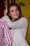 10.10.2012. Princess Letizia of Spain attends ´Cruz Roja´ (Red Cross) Fundraising Day in the Ministry of Foreign Affairs and Cooperation, Madrid, Spain. In the image Princess Letizia (Alterphotos/Marta Gonzalez)