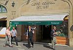 Caffe Cordina popular famous cafe restaurant, Valletta, Malta