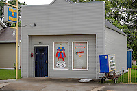 Superman Meseum on Route 66 in Carterville Missouri.
