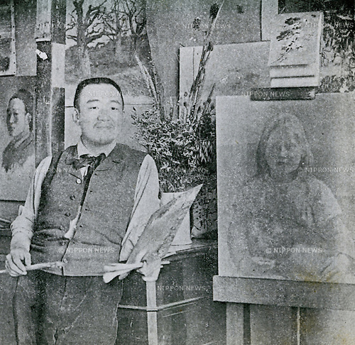 Undated - Seiki Kuroda (1866-1924) was a Japanese painter and the leaders of the yoga (Western-style) movement in late 19th and early 20th century Japanese painting. (Photo by Kingendai Photo Library/AFLO)