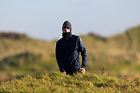 Luke O'Neill (Connemara) on the 11th during Round 3 of the Ulster Boys Championship at Portrush Golf Club, Valley Links, Portrush, Co. Antrim on Thursday 1st Nov 2018.<br /> Picture:  Thos Caffrey / www.golffile.ie<br /> <br /> All photo usage must carry mandatory copyright credit (&copy; Golffile | Thos Caffrey)