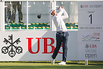 Julien Quesne of France tees off the first hole during the 58th UBS Hong Kong Open as part of the European Tour on 08 December 2016, at the Hong Kong Golf Club, Fanling, Hong Kong, China. Photo by Marcio Rodrigo Machado / Power Sport Images