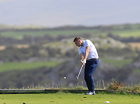Fergal O'Sullivan (Tralee) on the 7th tee during the Munster Final of the AIG Barton Shield at Tralee Golf Club, Tralee, Co Kerry. 12/08/2017<br /> Picture: Golffile | Thos Caffrey<br /> <br /> <br /> All photo usage must carry mandatory copyright credit     (&copy; Golffile | Thos Caffrey)