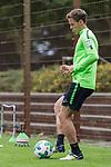 07.09.2017, Trainingsgelaende, Bremen, GER, 1.FBL, Training SV Werder Bremen<br /> <br /> im Bild<br /> Niklas Moisander (Werder Bremen #18) bei individuellem Training am Ball, <br /> <br /> Foto &copy; nordphoto / Ewert