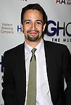 Lin-Manuel Miranda.attending the Broadway Opening Night Performance of 'GHOST' a the Lunt-Fontanne Theater on 4/23/2012 in New York City. © Walter McBride/WM Photography .
