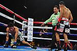 Ramon Gonzalez gano por KO a Edgar Sos en el 3 asalto reteniendo su titulo Mosca de la AMB