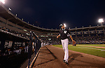 Masahiro Tanaka (Yankees),<br /> MARCH 28, 2014 - MLB :<br /> Masahiro Tanaka of the New York Yankees walks back to the dugout during a spring training baseball game against the Miami Marlins at George M. Steinbrenner Field in Tampa, Florida, United States. (Photo by AFLO)
