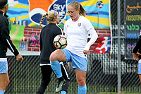 Piscataway, NJ - Sunday April 30, 2017: Leah Galton during a regular season National Women's Soccer League (NWSL) match between Sky Blue FC and FC Kansas City at Yurcak Field.