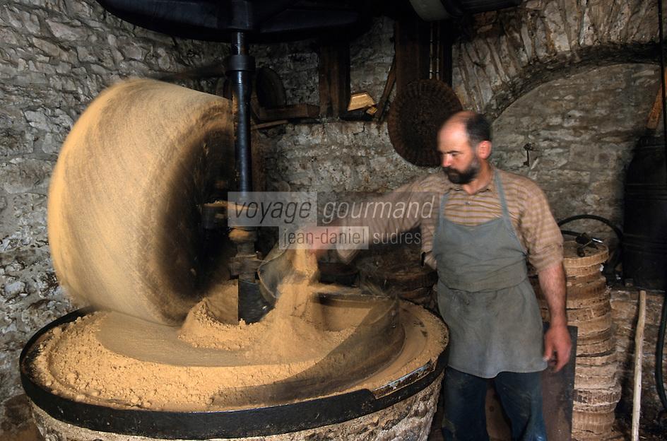 Europe/France/Midi-Pyrénées/46/Lot/Causse de Martel/Env Martel: Moulin à huile de noix de Mr Castagné [Non destiné à un usage publicitaire - Not intended for an advertising use]