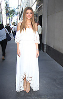 NEW YORK, NY - AUGUST 30: Maria Menounos seen after an appearance on NBC's Today Show to talk about life after brain tumor surgery in New York City on August 30, 2017. Credit: RW/MediaPunch
