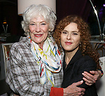 "Betty Buckley and Bernadette Peters backstage after ""Stigma"" on September 9, 2018 at the Green Room 42 in New York City."