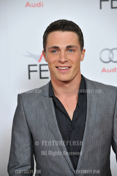 "Colton Haynes at the world premiere of ""J. Edgar"", the opening film of the AFI FEST 2011, at Grauman's Chinese Theatre, Hollywood..November 3, 2011  Los Angeles, CA.Picture: Paul Smith / Featureflash"