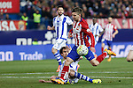 Atletico de Madrid´s Vietto during 2015-16 La Liga match between Atletico de Madrid and Real Sociedad at Vicente Calderon stadium in Madrid, Spain. March 01, 2016. (ALTERPHOTOS/Victor Blanco)