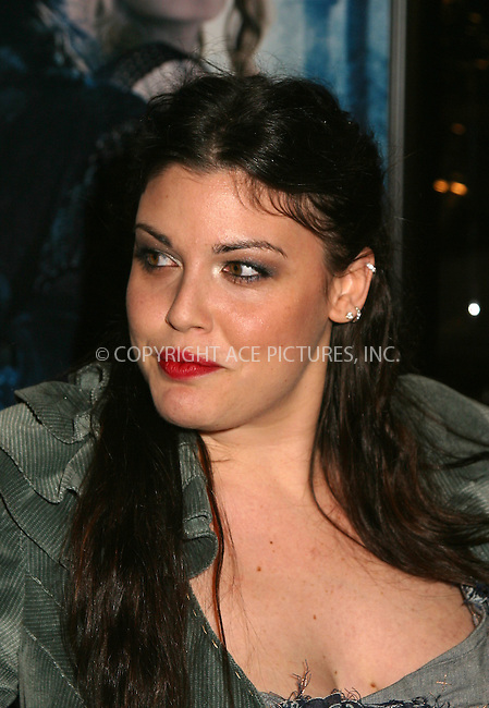 Mia Tyler at the World Premiere of The Lord of the Rings: The Two Towers. New York, December 5, 2002...Please byline: Alecsey Boldeskul/NY Photo Press.   ..*PAY-PER-USE*      ....NY Photo Press:  ..phone (646) 267-6913;   ..e-mail: info@nyphotopress.com
