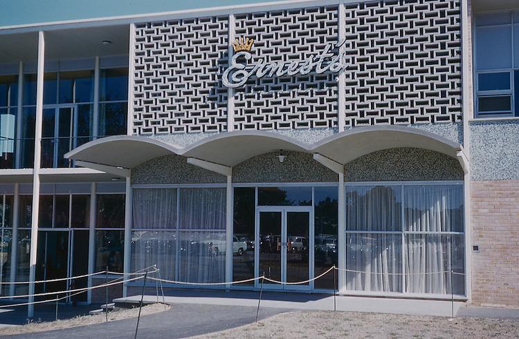 Ernests Restaurant 1961 river Torrens