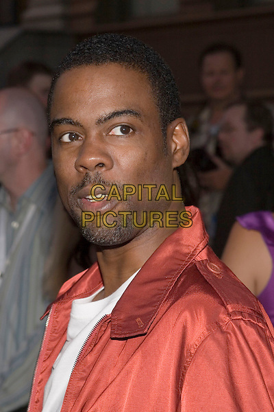 CHRIS ROCK.UPN Summer Press Tour Party .Paramount Studios.Los Angeles, 21st July 2005.headshot portrait red copper metallic shirt.www.capitalpictures.com.sales@capitalpictures.com.© Capital Pictures.