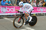 Bob Jungels (LUX) climbs Parliment Street during the Men Elite Individual Time Trial of the UCI World Championships 2019 running 54km from Northallerton to Harrogate, England. 25th September 2019.<br /> Picture: Seamus Yore | Cyclefile<br /> <br /> All photos usage must carry mandatory copyright credit (© Cyclefile | Seamus Yore)