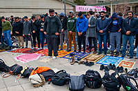 Memorial for the Victims of the Shooting in New Zealand Chicago Illinois 3-18-19