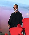23.05.2020, Allianz Arena, nph00250, , München, GER, 1.FBL, FC Bayern München vs Eintracht Frankfurt 23.05.2020 , <br /><br />Nur für journalistische Zwecke!<br /><br />Gemäß den Vorgaben der DFL Deutsche Fußball Liga ist es untersagt, in dem Stadion und/oder vom Spiel angefertigte Fotoaufnahmen in Form von Sequenzbildern und/oder videoähnlichen Fotostrecken zu verwerten bzw. verwerten zu lassen. <br /><br />Only for editorial use! <br /><br />DFL regulations prohibit any use of photographs as image sequences and/or quasi-video..<br />im Bild<br />Mitglied des Vorstandes Fredi Bobic (Frankfurt) <br />    <br /> Foto: Peter Schatz/Pool/Bratic/nordphoto