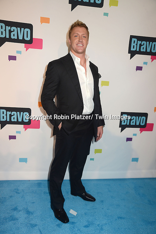 "Kroy Biermann  of "" Don't Be Tardy"" arrive at the Bravo 2013  Upfront on April 3, 2013 at Pillars 37 Studio in New York City."