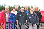 5948-5950.---------.Sideways.--------.Drivers and fans mix at the 1st service halt at the Historic stages rally in the Mart,kenmare last Sunday L-R John Young,Susan&Senan Raggett,Jason Brick(Tralee)Ray Hillard,Katie Quinn and Kay Fuller(Listowel).