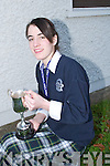Head and Shoulders of Emma Sherwood Captain of the Presentation Under 16 Basketball team.   .