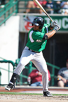 Dayton Dragons outfielder Juan Silva #27 during a Midwest League game against the Fort Wayne TinCaps at Parkview Field on August 19, 2012 in Fort Wayne, Indiana.  Dayton defeated Fort Wayne 5-1.  (Mike Janes/Four Seam Images)