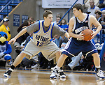 30 January 2008:  Air Force guard, Tim Anderson (12), during the Falcon's 69-53 loss to BYU at Clune Arena, Air Force Academy, Colorado Springs, Colorado.