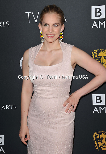 Anna Chlumsky  at the BAFTA Los Angeles 2013 at the SLS Hotel In Los Angeles.