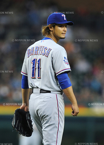 Yu Darvish (Rangers),.APRIL 19, 2012 - MLB :.Japan's Yu Darvish of the Texas Rangers during the game against the Detroit Tigers at Comerica Park in Detroit, Michigan, United States. (Photo by AFLO)
