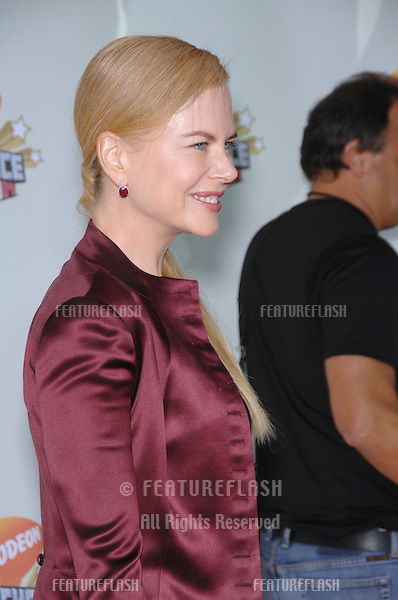 Nicole Kidman at Nickelodeon's 20th Anniversary Kids' Choice Awards at UCLA's Pauley Pavilion in Los Angeles..March 31, 2007  Los Angeles, CA.Picture: Paul Smith / Featureflash