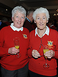 Sheila Nelson and Mary kealy pictured at the captain's drive in at County Louth golf Club. Photo: Colin Bell/pressphotos.ie