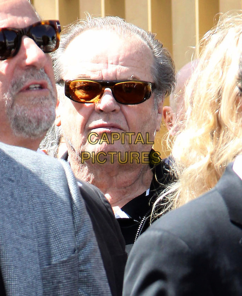 JACK NICHOLSON.Dennis Hopper is honored with the 2,403rd Star on the Hollywood Walk of Fame held On Hollywood Blvd., Hollywood, California , USA, .26th March 2010..portrait headshot sunglasses .CAP/ADM/KB.©Kevan Brooks/AdMedia/Capital Pictures.