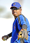 17 March 2007: New York Mets Manager Willie Randolph warms up prior to facing the Washington Nationals at Tradition Field in Port St. Lucie, Florida...Mandatory Photo Credit: Ed Wolfstein Photo