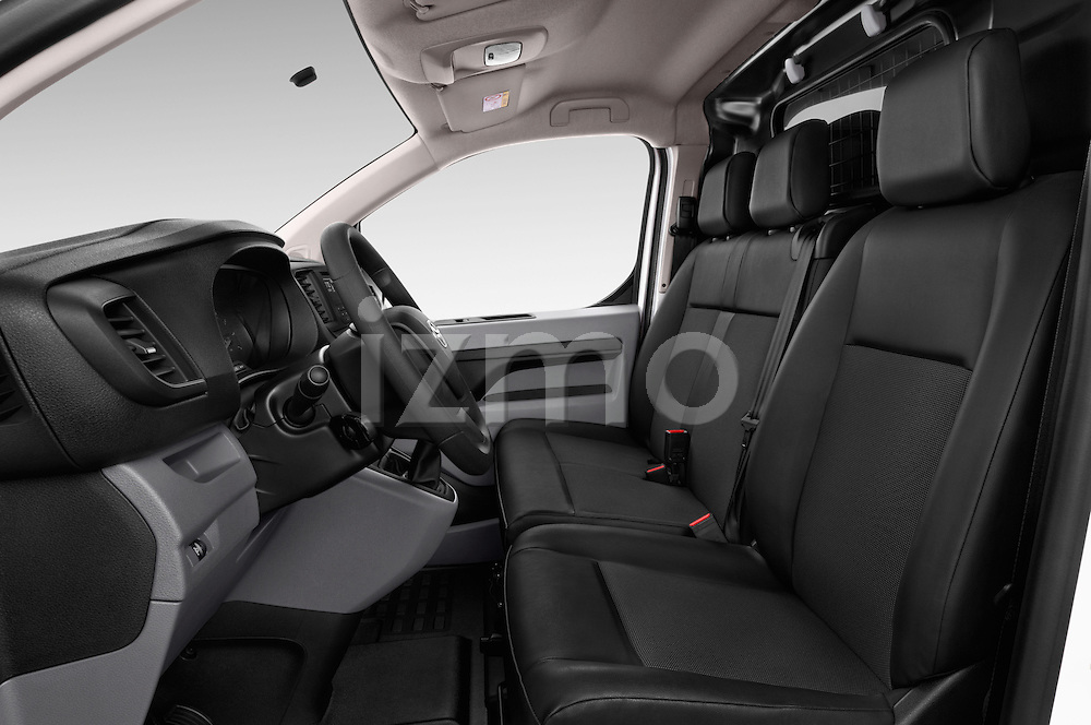 Front seat view of 2016 Toyota Proace Comfort 4 Door Cargo Van Front Seat  car photos