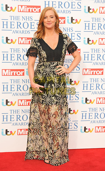Sarah-Jane Mee at the NHS Heroes Awards 2018, London Hilton on Park Lane Hotel, Park Lane, London, England, UK, on Monday 14 May 2018.<br /> CAP/CAN<br /> &copy;CAN/Capital Pictures