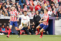 7th March 2020; Wanda Metropolitano Stadium, Madrid, Spain; La Liga Football, Atletico de Madrid versus Sevilla; Jesus Navas (Sevilla FC)  in action during the match