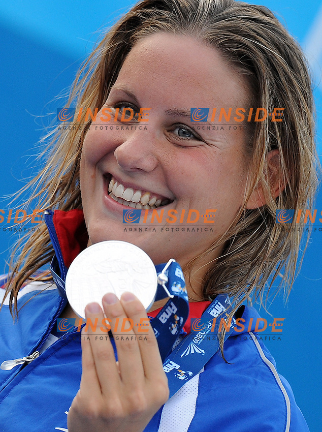Roma 1st August 2009 - 13th Fina World Championships From 17th to 2nd August 2009....Swimming finals..Women's 800m freestyle..Joanne Jackson (GBR) silver medal....photo: Roma2009.com/InsideFoto/SeaSee.com