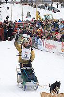 Zack Steer Willow restart Iditarod 2008.
