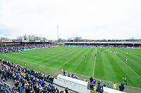 Picture by Allan McKenzie/SWpix.com - 08/04/2018 - Rugby League - Betfred Super League - Wakefield Trinity v Leeds Rhinos - The Mobile Rocket Stadium, Wakefield, England - A general view of Wakefield playing Leeds at Belle Vue.