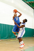 April 9, 2011 - Hampton, VA. USA;   Josh Fortune coaches during the 2011 Elite Youth Basketball League at the Boo Williams Sports Complex. Photo/Andrew Shurtleff
