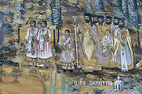 BG51497.JPG BULGARIA, BATCHKOVO MONASTERY, Refectory, 1601, frescoes
