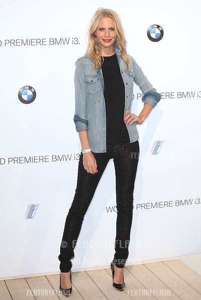 Poppy Delevingne arriving for the BMW i3 Launch Party, at Old Billingsgate, London. 29/07/2013 Picture by: Alexandra Glen / Featureflash