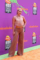 LOS ANGELES - July 13:  Lindsey Vonn at the Nickelodeon Kids' Choice Sports Awards 2017 at the Pauley Pavilion on July 13, 2017 in Westwood, CA