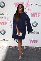 BEVERLY HILLS, CA June 13- Angelique Fawcette, at Women In Film 2017 Crystal + Lucy Awards presented by Max Mara and BMWGayle Nachlis at The Beverly Hilton Hotel, California on June 13, 2017. Credit: Faye Sadou/MediaPunch