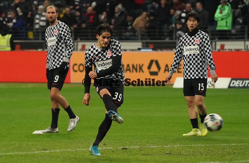Goncalo Paciencia (Eintracht Frankfurt) - 18.12.2019: Eintracht Frankfurt vs. 1. FC Koeln, Commerzbank Arena, 16. Spieltag<br /> DISCLAIMER: DFL regulations prohibit any use of photographs as image sequences and/or quasi-video.